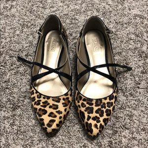Alfani leopard shoes